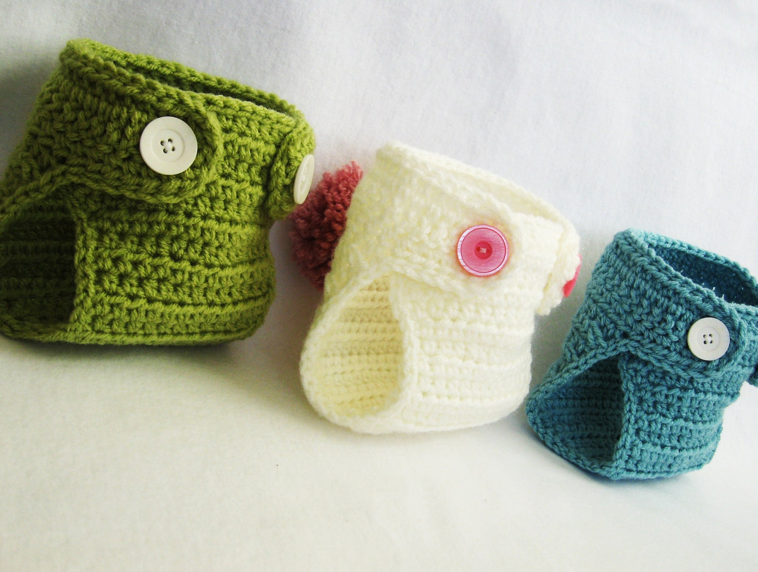 Crochet Patterns Diaper Covers : Crochet Diaper Cover Pattern - All For Crochet