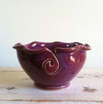 Yarn Bowl from Redhotpottery