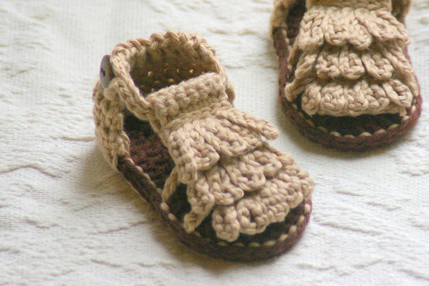 Crochet pattern baby moccasins booties pdf 5 genevive handmade