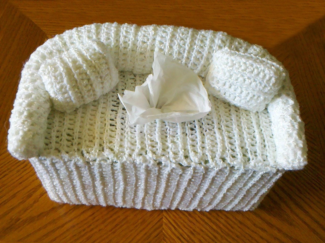 Free Crochet Pattern For Tissue Box Cover ~ Dancox for .