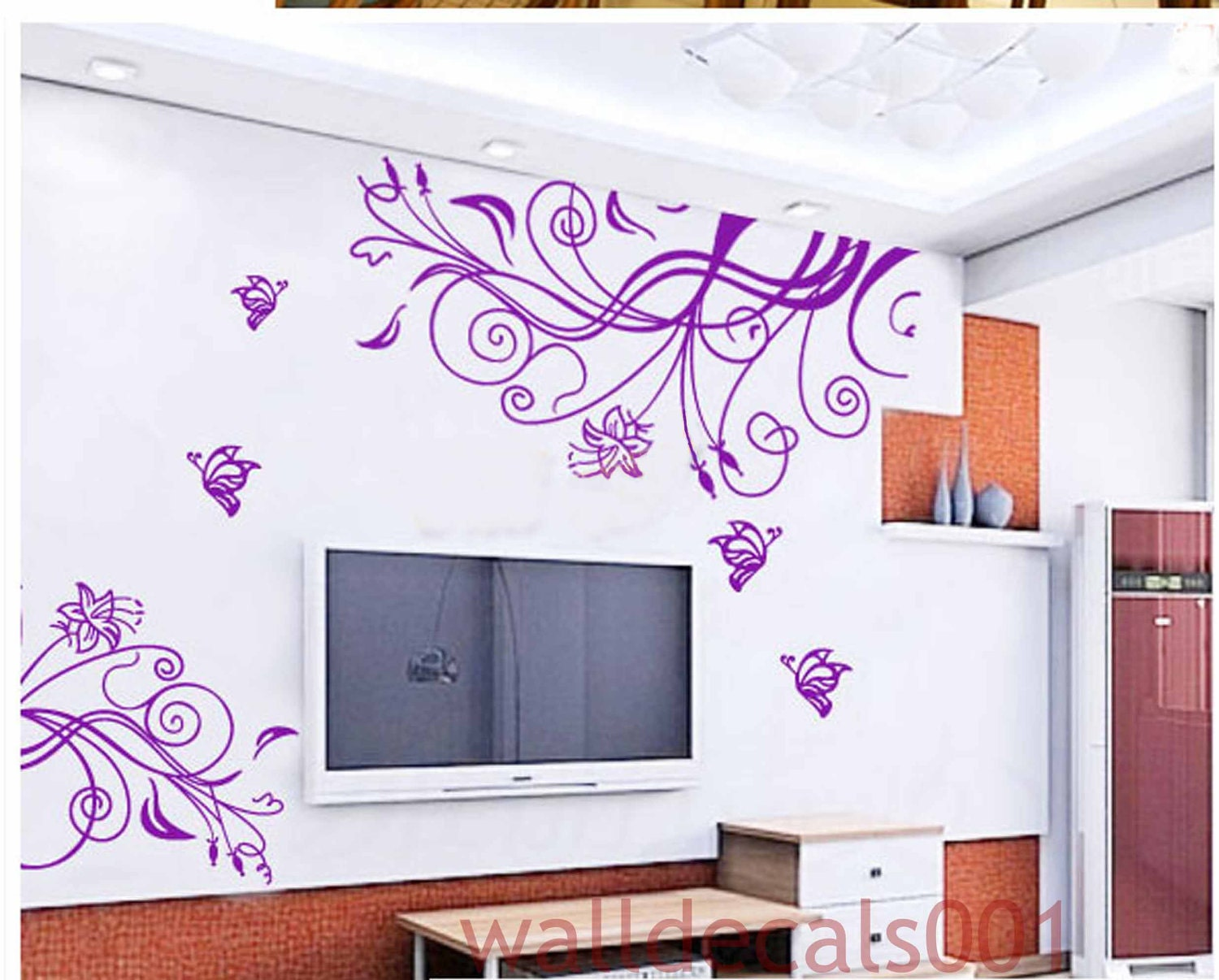 Best wall decor full wall mural decals thousands pictures of how to make a vinyl decal with your cricut best wall decor amipublicfo Images