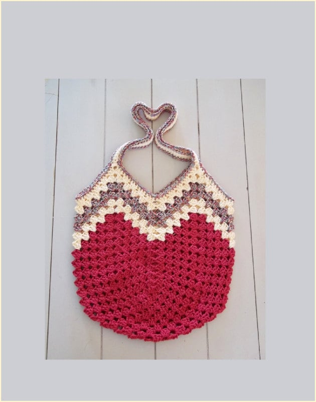 Crochet Grocery Bag Pattern : Crochet Plastic Grocery Bag Pattern
