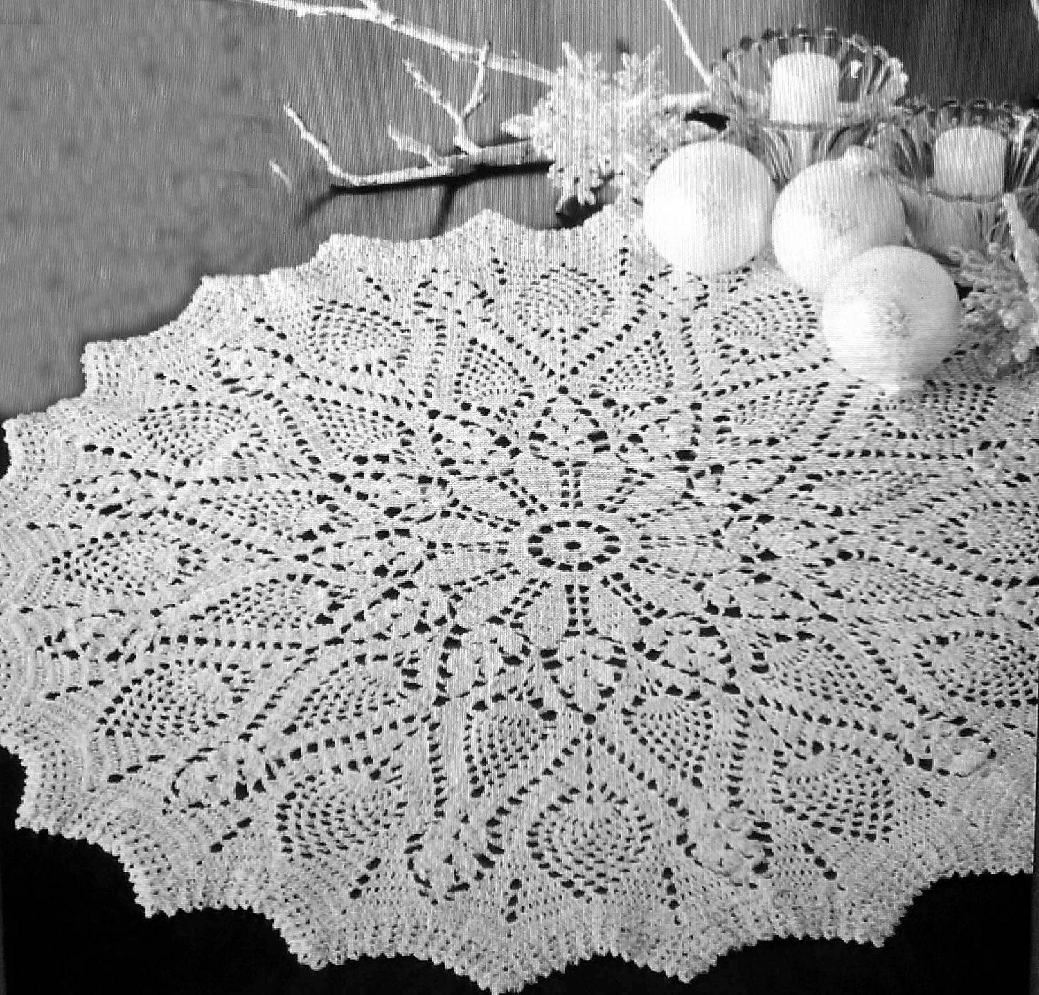 Hand - Crocheted Name Doilies by Lee Ann (CrochetGotta Love It!)
