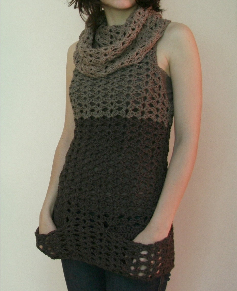 Beach Cover-up / Tunic - Free Crochet Pattern: Nature's Choice