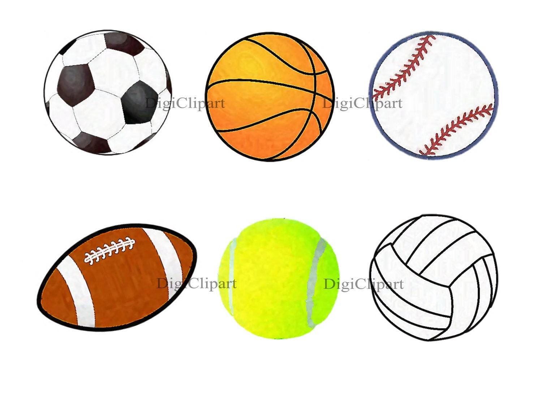 clipart sport balls - photo #13