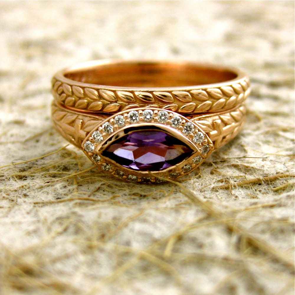 Rose gold engagement rings is the ultimate symbol of love for thousands of years. Rose gold engagement rings are in ancient Egypt