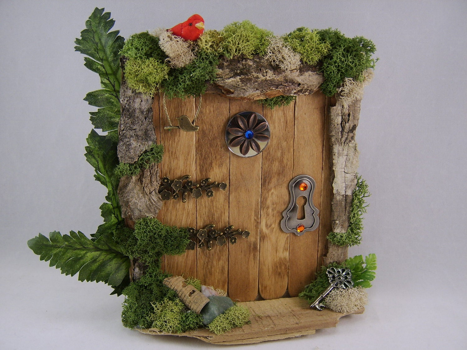 1000 images about diy fairy doors on pinterest for Homemade fairy doors