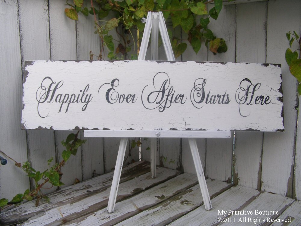 A FABULOUS sign for a 39Fairy Tale Wedding 39also a FABULOUS sign for a