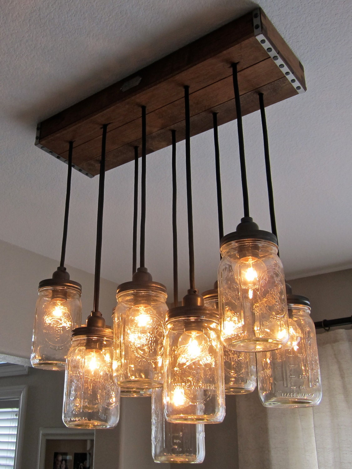 Dining room chandelier replace for pendants community forums - Do it yourself light fixtures ...