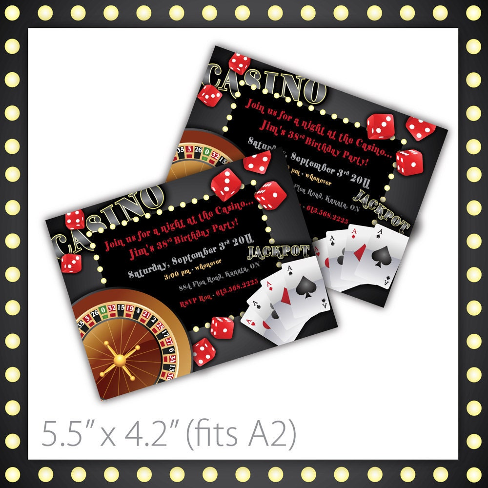 Casino Invitations Images - Reverse Search