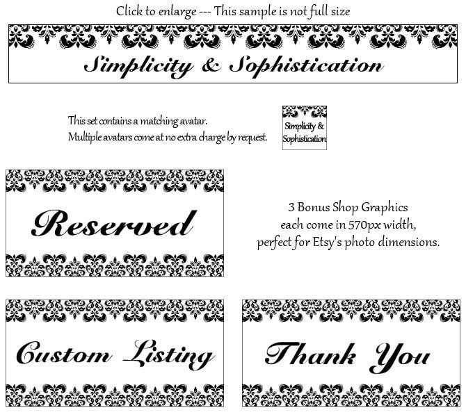 Simplicity & Sophistication: banner & avatar