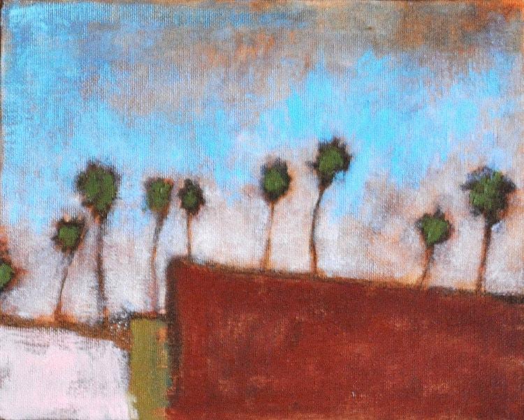 Original Oil Painting of San Diego, California
