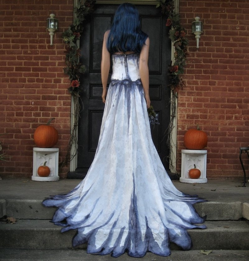 Gothic Corpse Bride Wedding Gown From TheBohemianGoddess