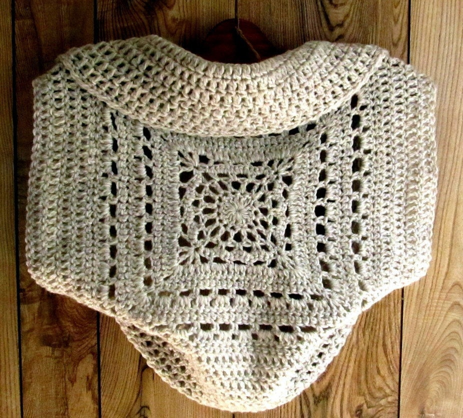 Cozy Shrug Crochet Pattern Crochet Patterns