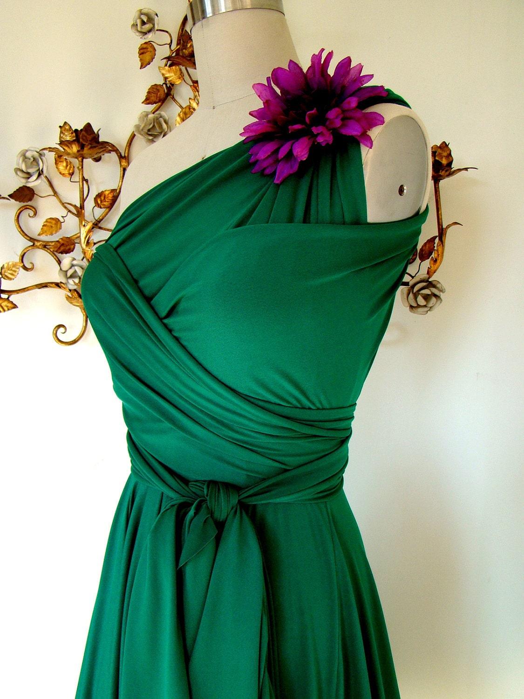 Convertible Wrap Dress The Dress Shop