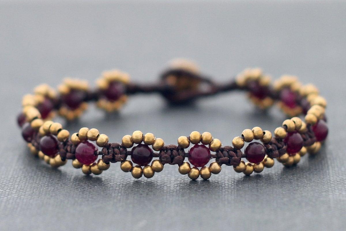 Bead Bracelet Daisy 171 Bracelets Jewelry