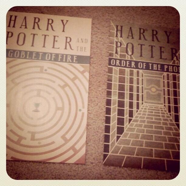 affiche Harry Potter