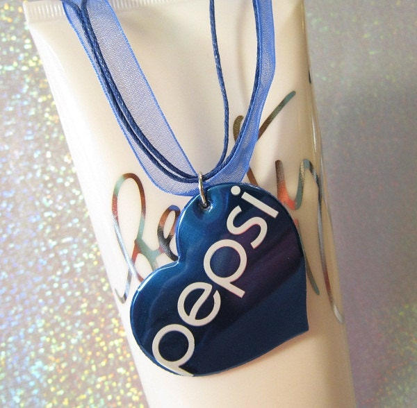 Pepsi Pop Can Necklace Cute Teen Jewelry