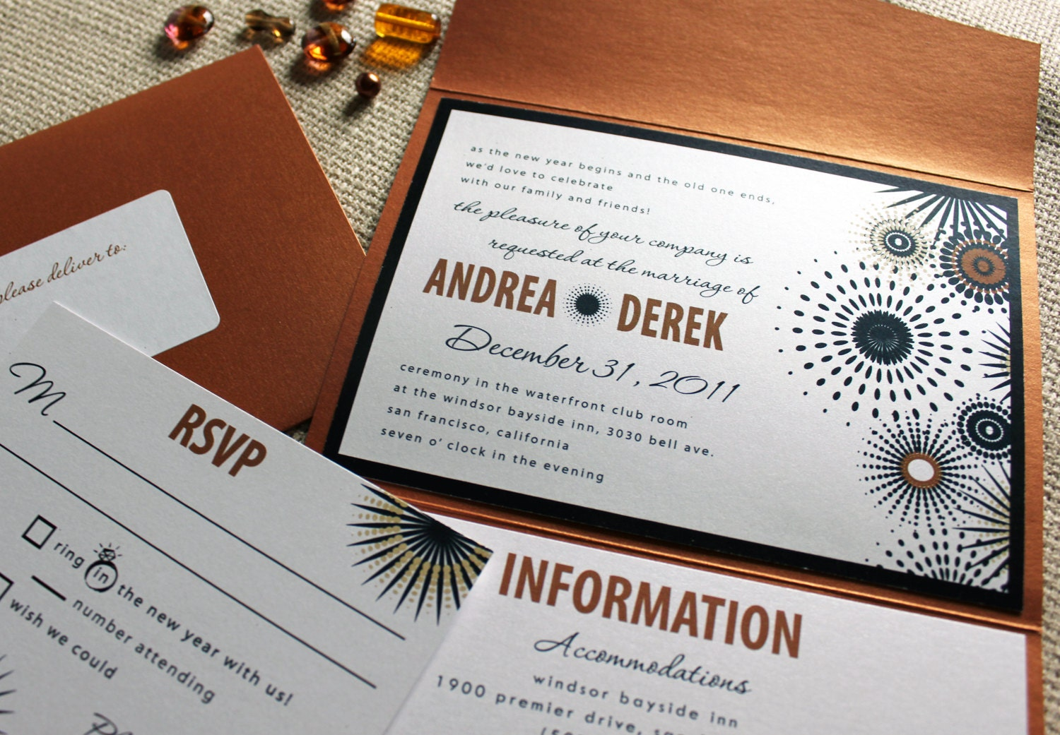 New Years Eve Wedding Invitation: New Years Eve Wedding Invitations Wording