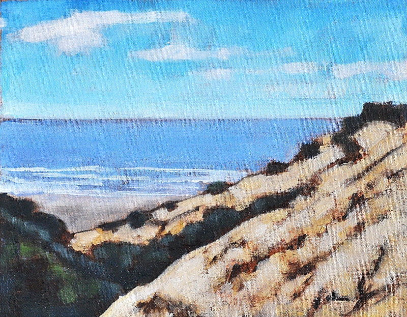 California seascape painting