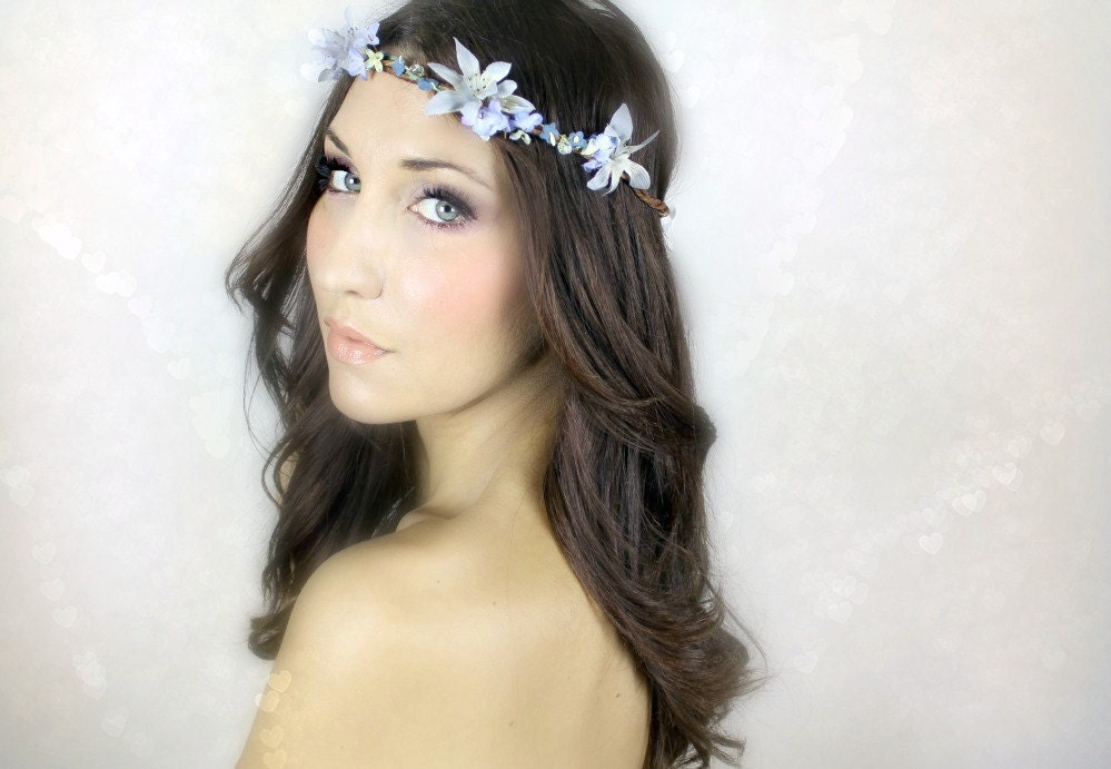 WHIMSICAL Wedding Hair Wreath Bridal Accessory Hair Accessory fairy