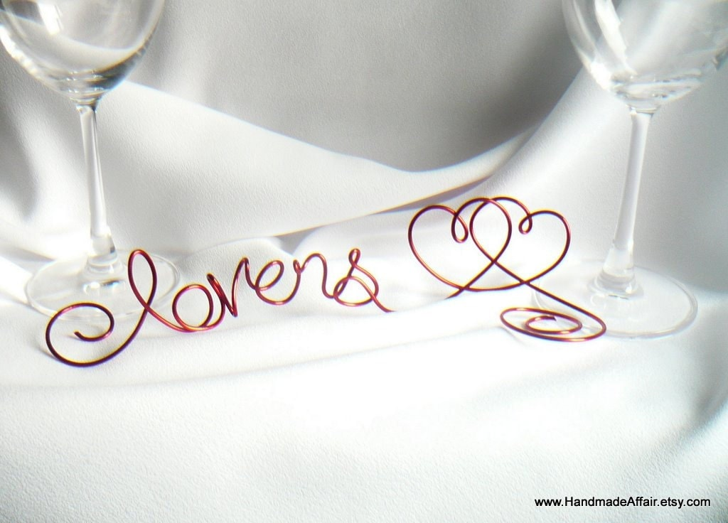 Wedding Sweetheart Table Decoration Red Valentines Day Party Sign