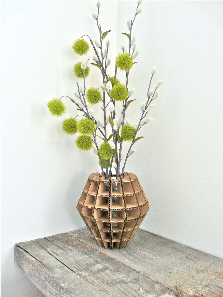 Urban Analog - Cardboard Design Vase