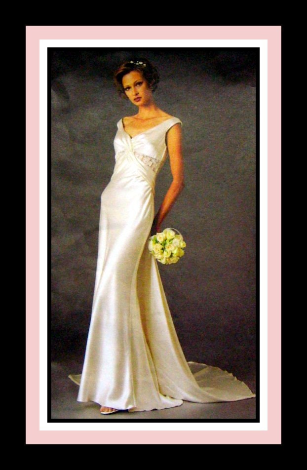 Darchelle S Blog 30s Halter Gown 40s Wedding Gown All That Nice