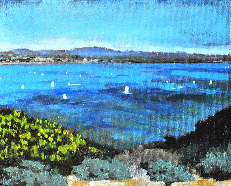 San Diego California seascape painting