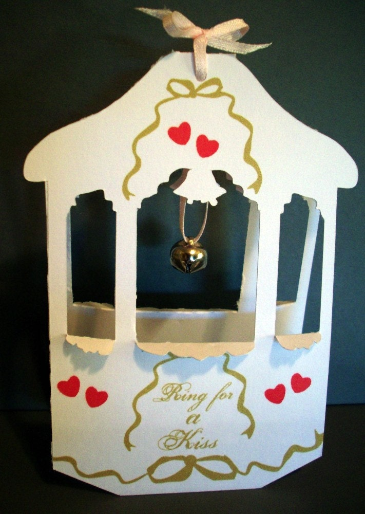 Printable Wedding Anniversary Wishing Well PopUp Card You make Item 8065p