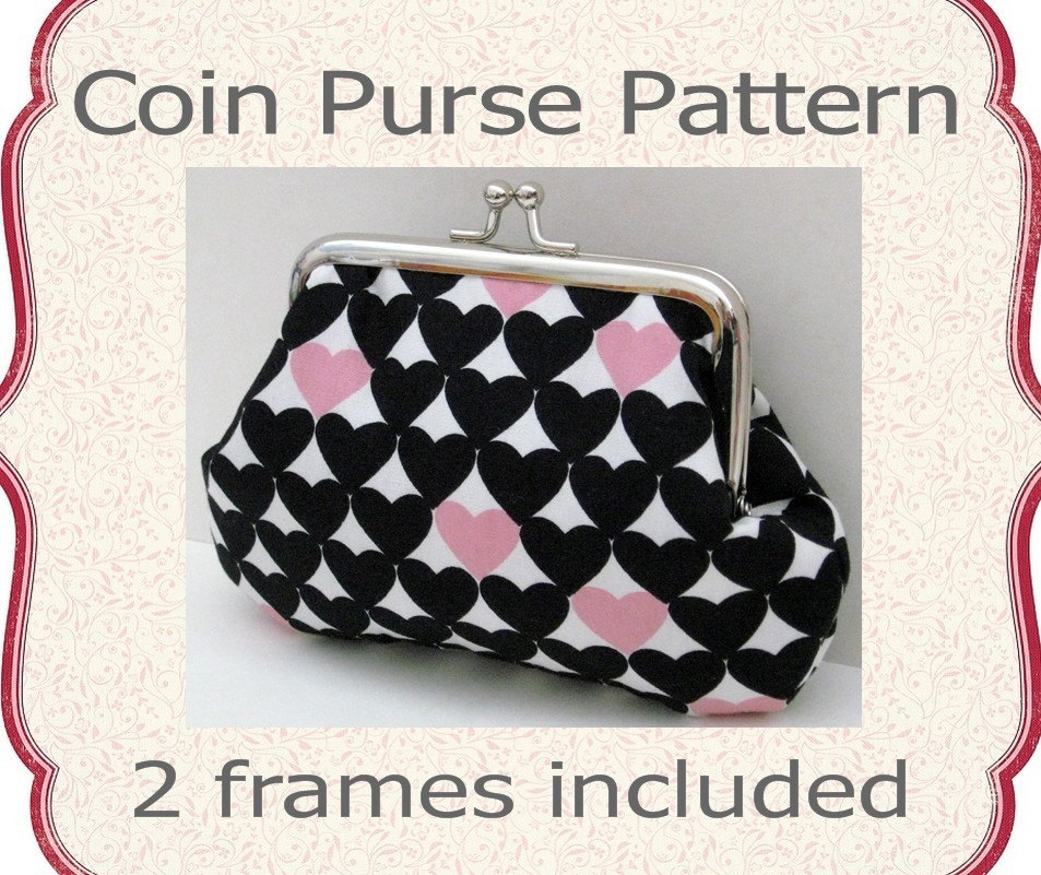 purse frame patterns browse patterns - Metal Purse Frames