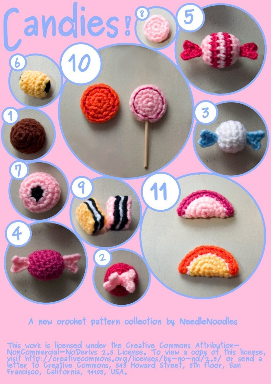 creepy cute crochet, more ideas